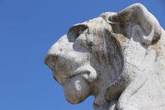 Lejon i Rome royaltyfri foto