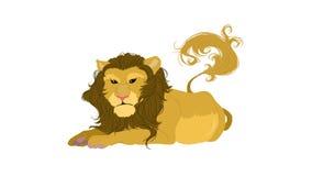 Lejonet Arkivfoto