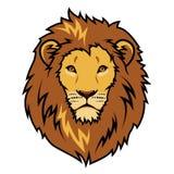 Lejonhuvud vektor illustrationer