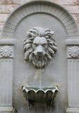 Lejonspringbrunn Fotografering för Bildbyråer