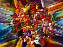 Lek av målat glass Arkivfoton