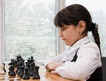 Lek av schack Arkivfoton