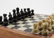 Lek av schacket royaltyfria foton