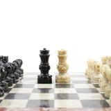 Lek av schacket arkivbild
