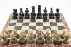 Lek av schacket Royaltyfri Foto