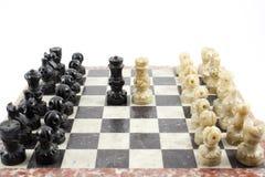 Lek av schacket Royaltyfria Bilder