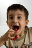 lek för 3 Cherry Fotografering för Bildbyråer
