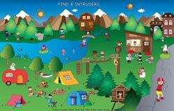 Lek för barn royaltyfri illustrationer