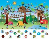 Lek för barn Arkivbilder