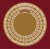 Lek för vektortappningbräde Royaltyfria Bilder