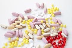lek różne pastylki Fotografia Stock