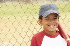 leka barn för baseballpojke royaltyfri bild