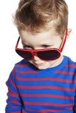 leka barn för pojke Royaltyfria Bilder