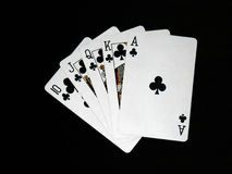 leka för 04 kort royaltyfri fotografi