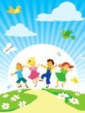 leka för barn Royaltyfria Bilder