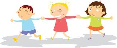 leka för barn stock illustrationer