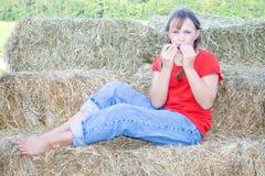 leka för barninstrument Fotografering för Bildbyråer