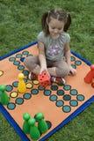 leka för brädebarn Arkivfoton