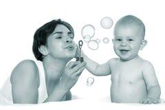 leka för bubblor Royaltyfri Foto