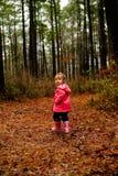 leka för flicka Royaltyfria Foton