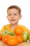 leka för frukter Arkivfoto