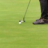 leka för golf Royaltyfria Foton