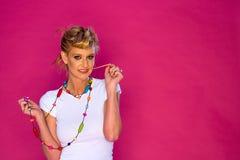 leka för gummimodell Royaltyfri Fotografi