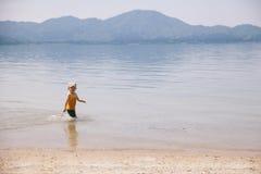 leka för lake royaltyfri foto