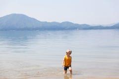 leka för lake royaltyfria foton