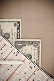 leka för lotteri Royaltyfri Bild