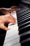 leka för pianno Royaltyfria Foton