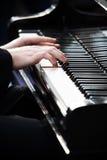 leka för piano Royaltyfri Foto