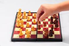 leka för schackbarn Arkivfoton