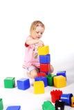 leka för tegelstenar Royaltyfri Fotografi