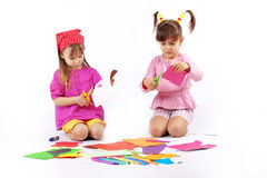 leka för ungar Royaltyfri Bild