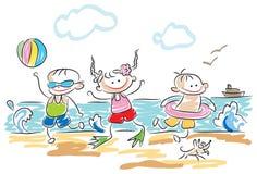 leka för ungar stock illustrationer