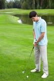 leka för golf Royaltyfri Foto