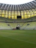 Leka fält för PGE-ArenaGdansk stadion Arkivfoton
