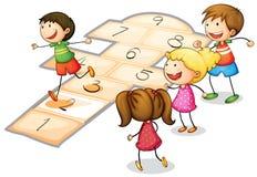 Leka för ungar Arkivbild