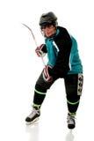 leka pensionär för hockeyis Arkivbilder