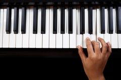 Leka piano Royaltyfri Bild
