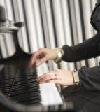 Leka piano Royaltyfri Fotografi