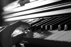 Leka piano Royaltyfria Bilder