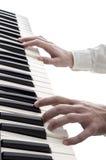 Leka piano Arkivbild