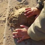leka sand Royaltyfri Fotografi