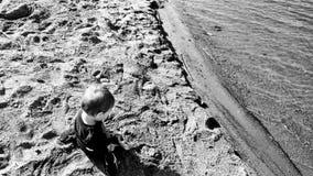 leka sand för barn Arkivfoton
