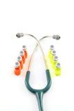 leka stetoskop Obraz Stock