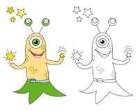 leka stjärnor för främling vektor illustrationer