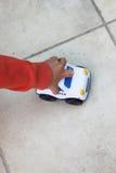 leka toy för pojkebil Royaltyfri Bild