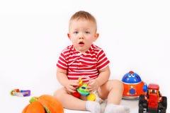 leka toys för barn Arkivbild